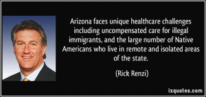 challenges including uncompensated care for illegal immigrants ...
