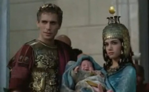 Late in June Cleopatra gave birth to a half-Roman child, divine on two ...