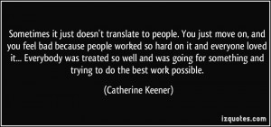 More Catherine Keener Quotes