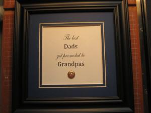 ... quote for Dad/Grandpa - 9x9 -