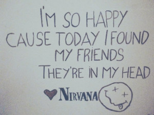 ... lithium, love it, lyrics, music, nirvana, pale, photography, quotes