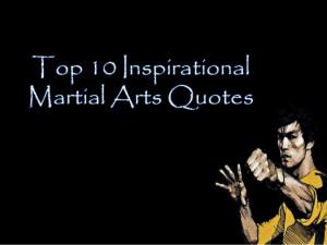 Martial Arts Motivational Quotes