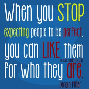 expectation and relationship quotes – When you stop expecting people ...