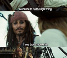 Pirates of the Caribbean Jack Sparrow Funny Quotes