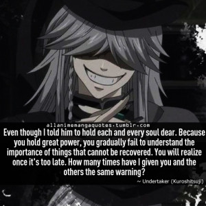 ... / Black Butler - for a psycho, the undertaker is really cool
