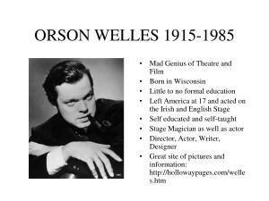 orson welles quotes i never said i was a genius orson welles