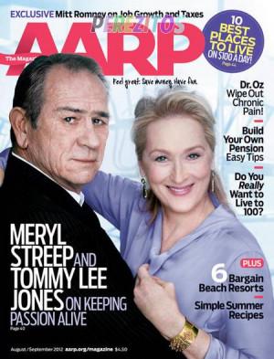 Tommy Jones & Meryl Streep Gab On Passing The Acting Torch