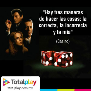 Casino #Cine #Movie #Cita