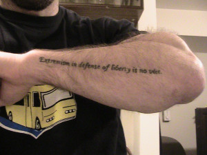 Tattoo Quotes For Men On Forearm