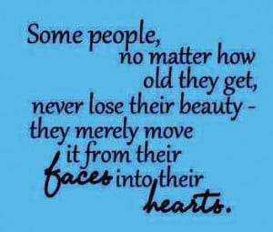 How to maintain beauty as you age..., with age Inspirational Quotes ...