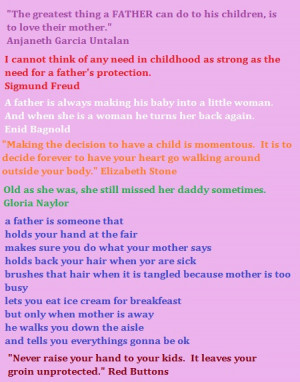 Baby Father Quotes Sayings