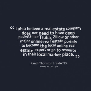 Quotes About: real estate website