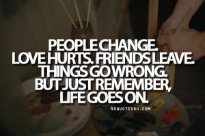 Friends Change Quotes Tumblr