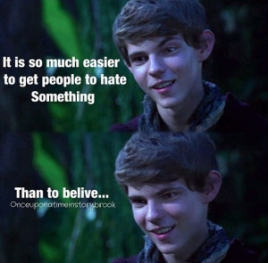 Peter Pan from once upon a time