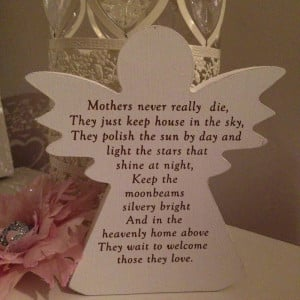 Birthday Quotes For Mom In Heaven Mother (nana/grandma) in