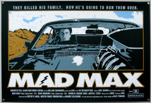 Mad Max / screen print / Billy Perkins / regular / USA