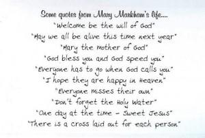 Anniversary Time Mary Markham 1923 2012