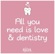 Cute quote from The American Student Dental Association. ASDAnet.org ...