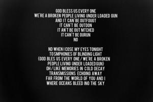 Third Message: Lyrics [ edit ]