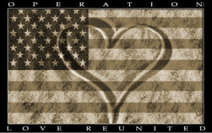 ... contact me or visit Operation Love ReUnited for more information