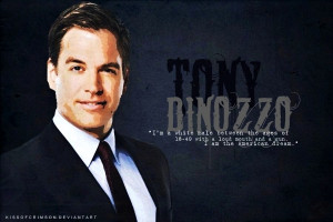 Michael Weatherly/Anthony DiNozzo #14: Because he never fails to make ...
