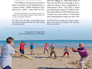 Watchtower 2013 jan 15 jehovah's witnesses cricket on the beach