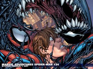 Venom or Spiderman Google Themes