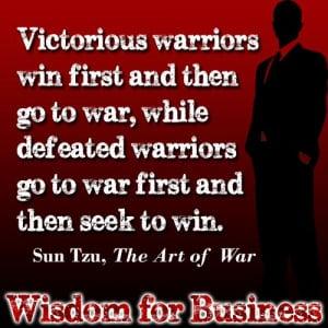 Quote from Sun Tzu