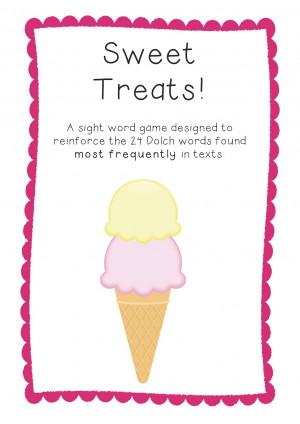 Sweet Treats on TpT