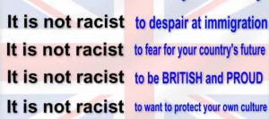 It Is Not Racist To Despair At Immigration.