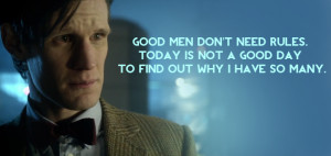Goodbye, Matt: The Eleventh Doctor's best quotes