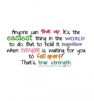 Give Its The Easiest Thing