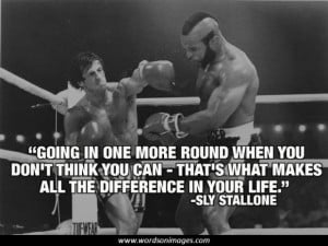 Famous rocky quotes