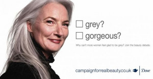 Would you hire someone with a few wrinkles and gray hair?