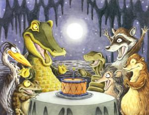 Swamp birthday Image