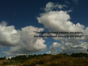 Immanuel kant quotes sayings thoughts intuitions meaningful