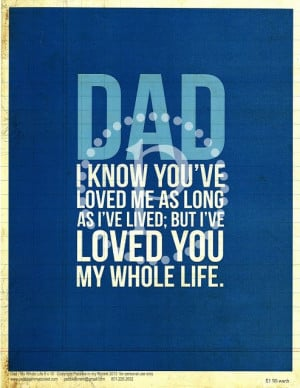 Father's Day quote prints