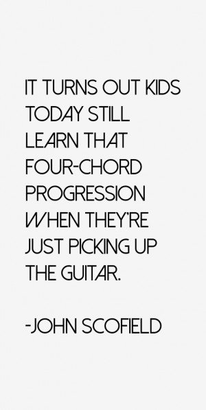 It turns out kids today still learn that four-chord progression when ...