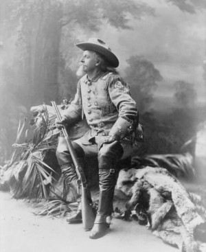 Colonel William F. Cody - Buffalo Bill Cody - in 1903