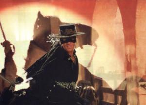 Antonio Banderas is handing over his Zorro sword to Gael Garcia Bernal ...