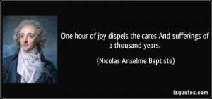 Nicolas Anselme Baptiste Quote