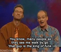 Colin Mochrie - Whose Line it is Anyways and then they're Funk band in ...