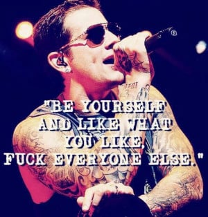 Avenged Sevenfold Quotes | Avenged Sevenfold A7X | All Things A7X