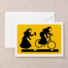 Funny Nuns Greeting Cards
