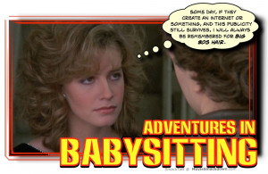 The Sitter (2011) -vs- Adventures in Babysitting (1987)