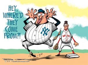 Yankees Numbers