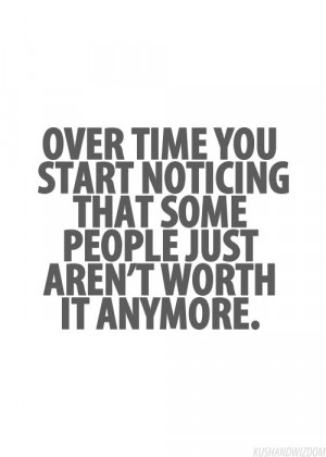not worth it anymore...