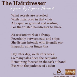 love these quotes about hairdressers they always remind me of why i ...