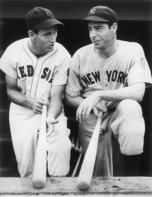Ted Williams Quotes Ted williams joe dimaggio 1941