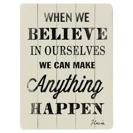 Anything can happen . . .